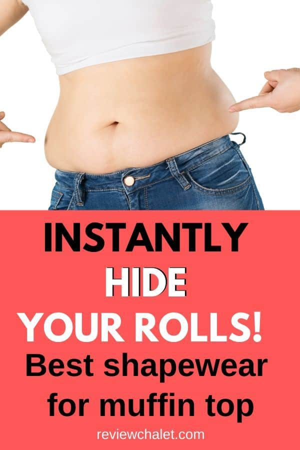 Instantly hide your rolls with one of the best shapewear for muffin top. Feel your beautiful, sexy self every day when you wear the right shaping wear. #shapewear #shapermint #bodywear #muffintop #muffintopshapewear #feelsexy #loveyourbody