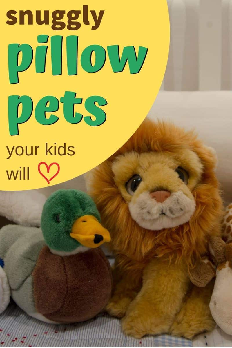 Snuggly pillow pets your kids will love